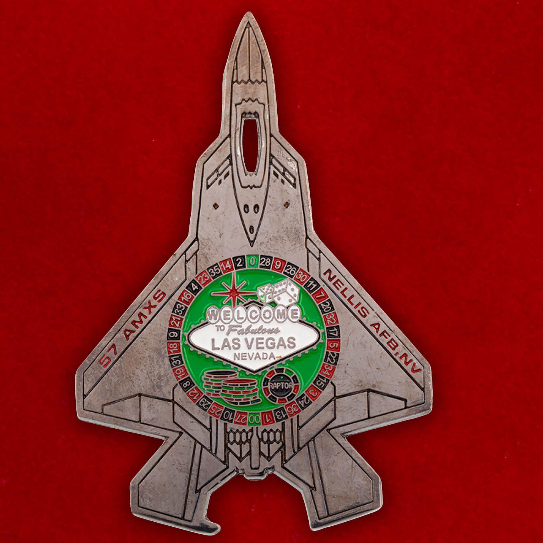 Челлендж коин 57-й эскадрильи дозаправщиков авиабазы Неллис