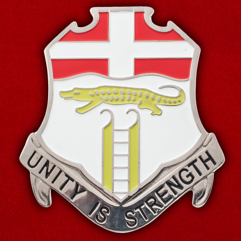 Челлендж коин 6-го пехотного полка Армии США