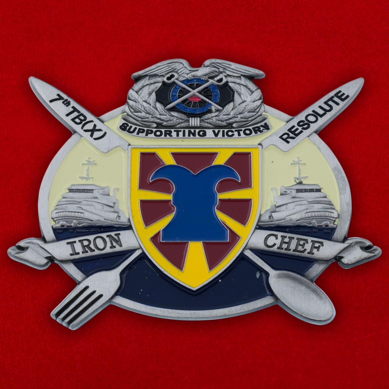 Челлендж коин 7-й Экспедиционной Транспортной бригады Армии США