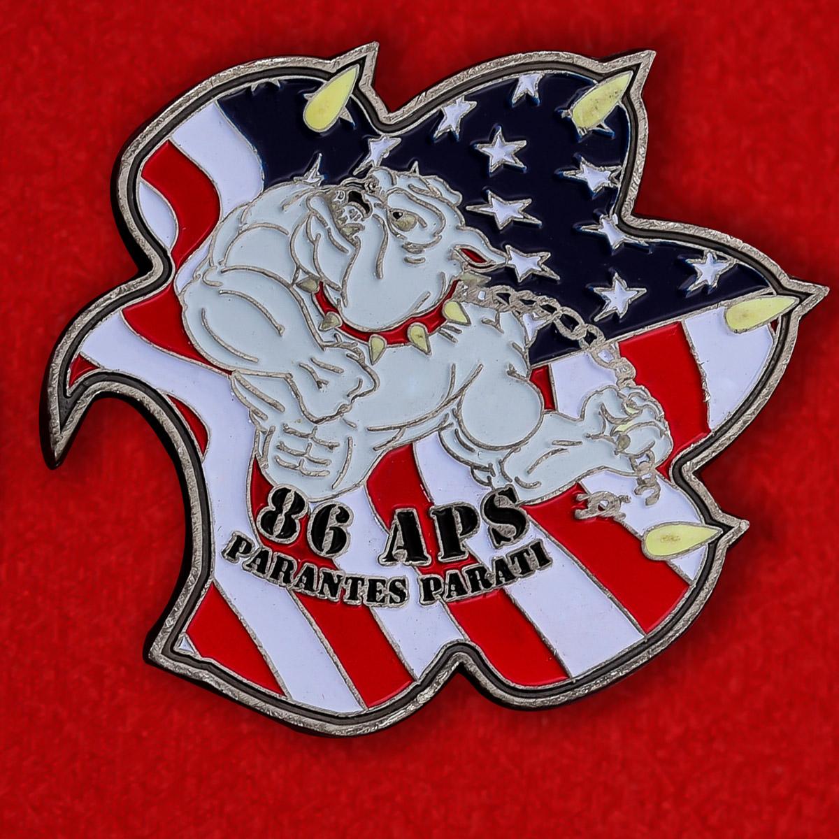 Челлендж коин 86-й эскадрильи базы Льюис-МакКорд