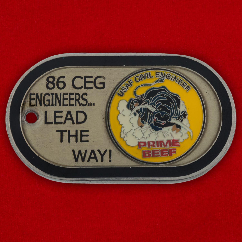 Челлендж коин 86-й Пожарно-спасательной эскадрильи