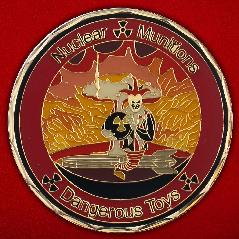 Челлендж коин 898-й эскадрильи Службы ядерного вооружения ВВС США