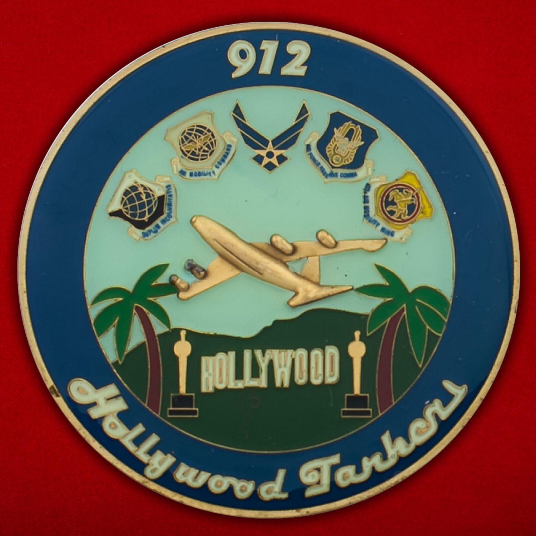 Челлендж коин 912-й эскадрильи дозаправки ВВС США
