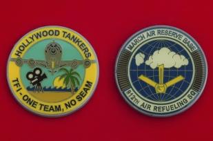 Челлендж коин 912-й заправочной авиационной эскадрильи ВВС США