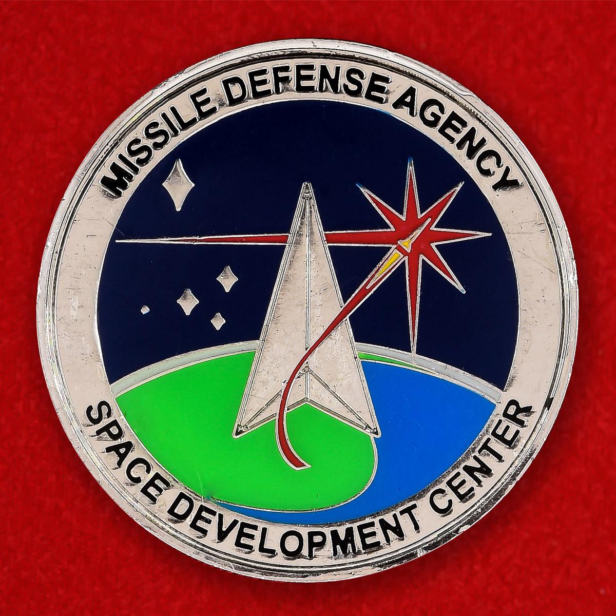 """Челлендж коин """"Агентство по противоракетной обороне США"""""""