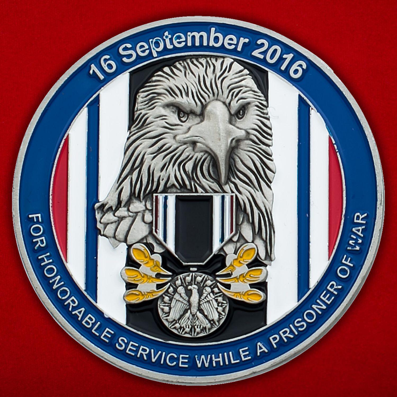 """Челлендж коин """"Медаль американских военнопленных"""""""