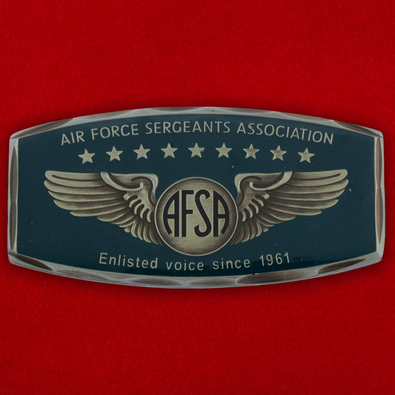 """Челлендж коин Ассоциации сержантов ВВС США базы """"Рамштайн"""""""