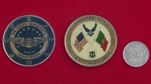 Челлендж коин ассоциации сержантов ВВС США на авиабазе Лажеш, Португалия