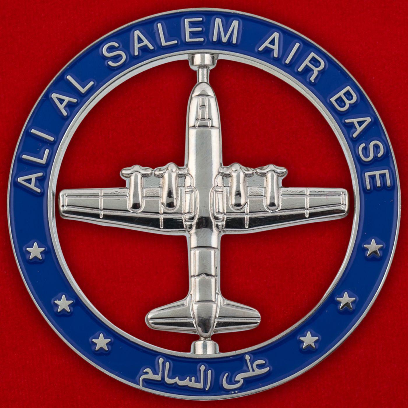 Челлендж коин авиабазы Али аль-Салем ВВС Кувейта