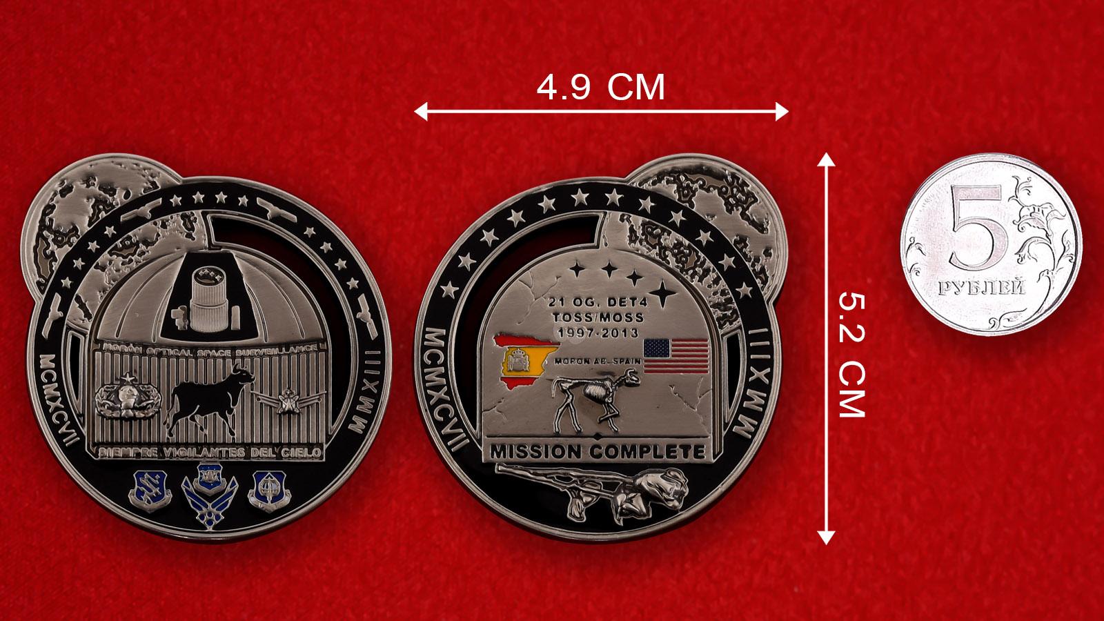 Челлендж коин авиабазы Морон (США/Испания)
