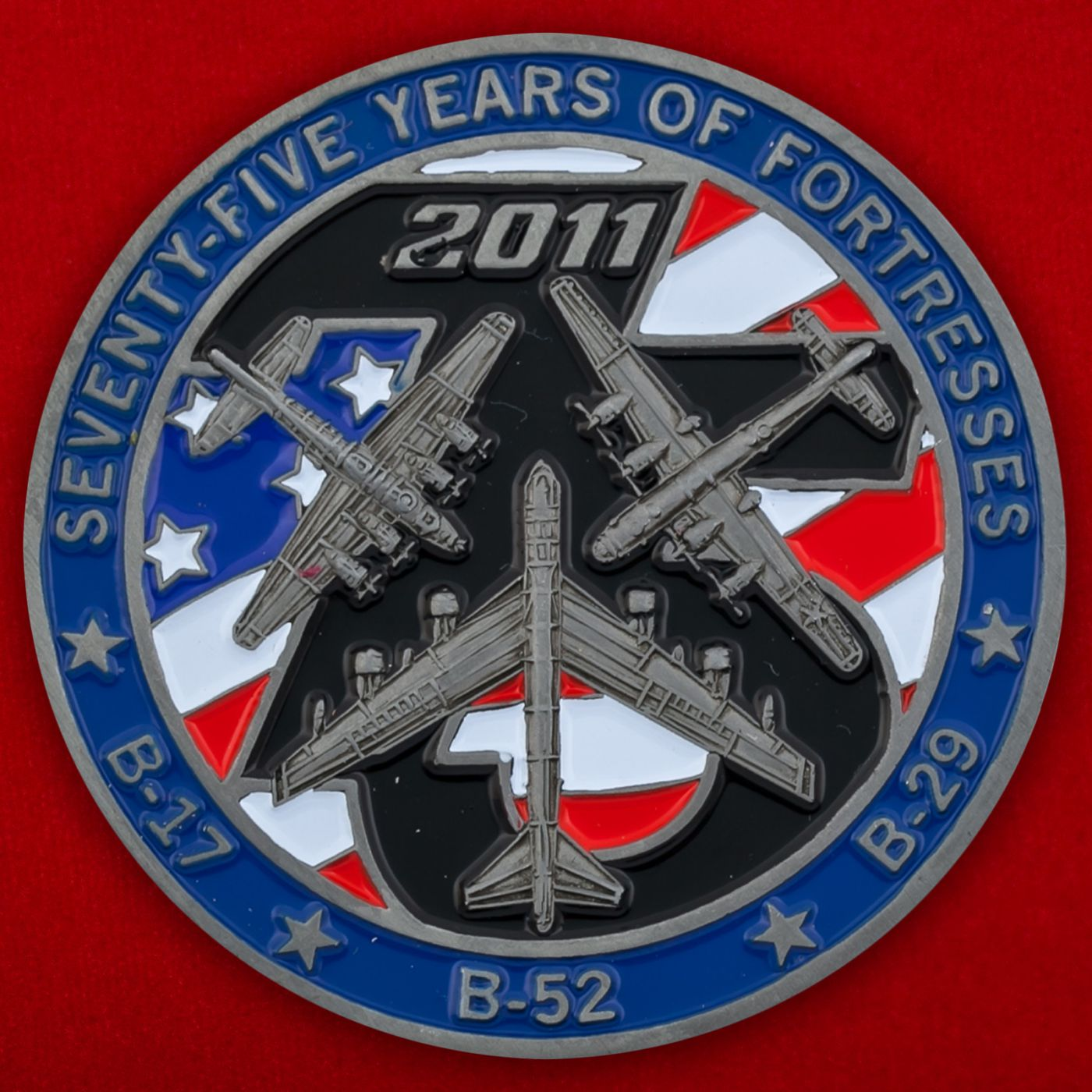 Челлендж коин авиашоу на базе Барксдейл ВВС США