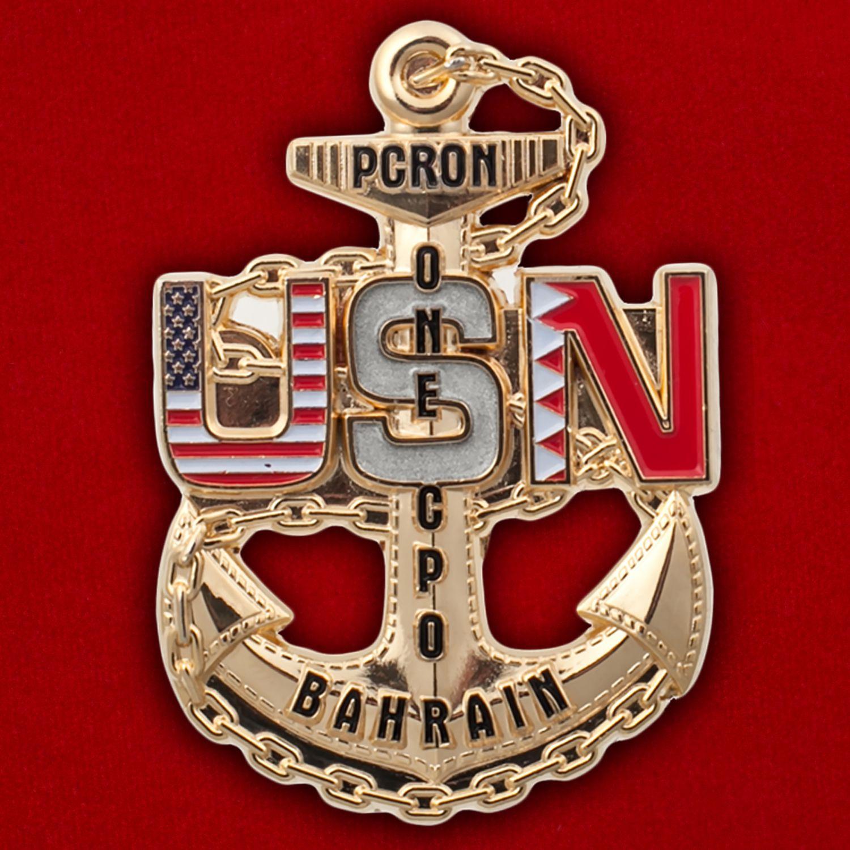 Челлендж коин базы ВМС США в Бахрейне