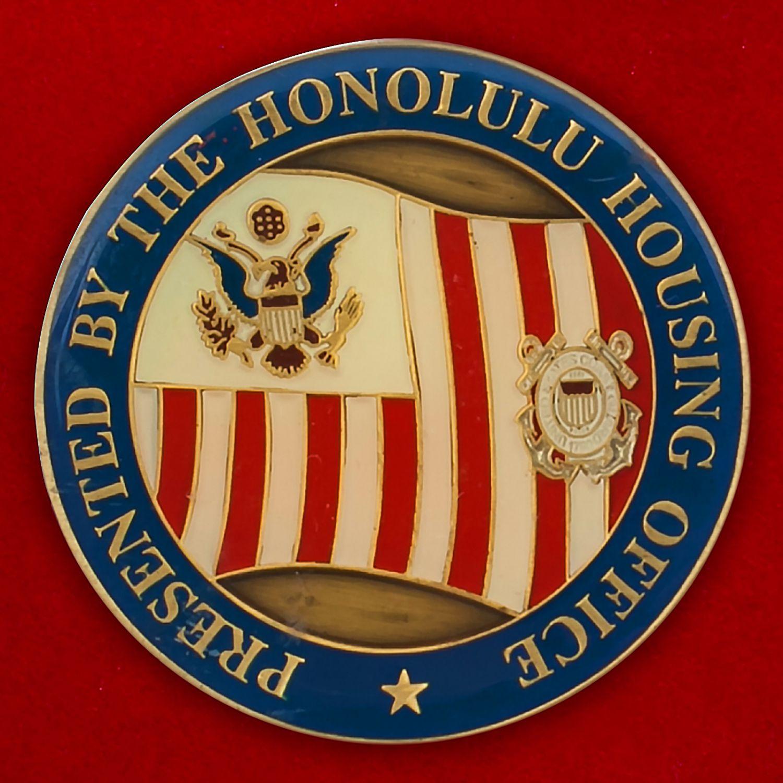 Челлендж коин Береговой охраны Гонулулу, Гавайи