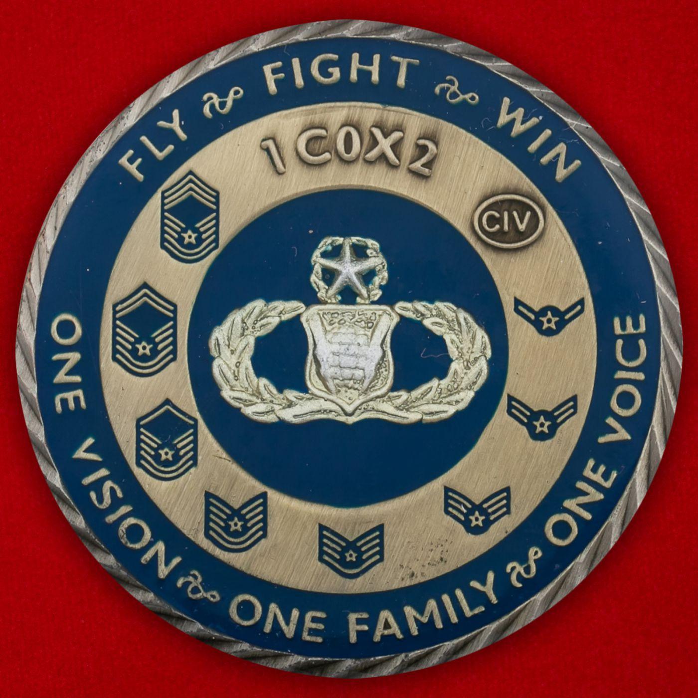 Челлендж коин Боевого авиационного командования ВВС США