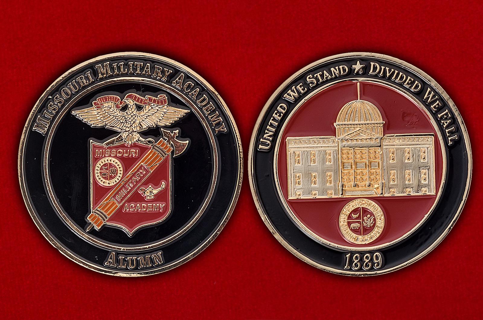 Челлендж коин частной военной академии для мальчиков в Миссури