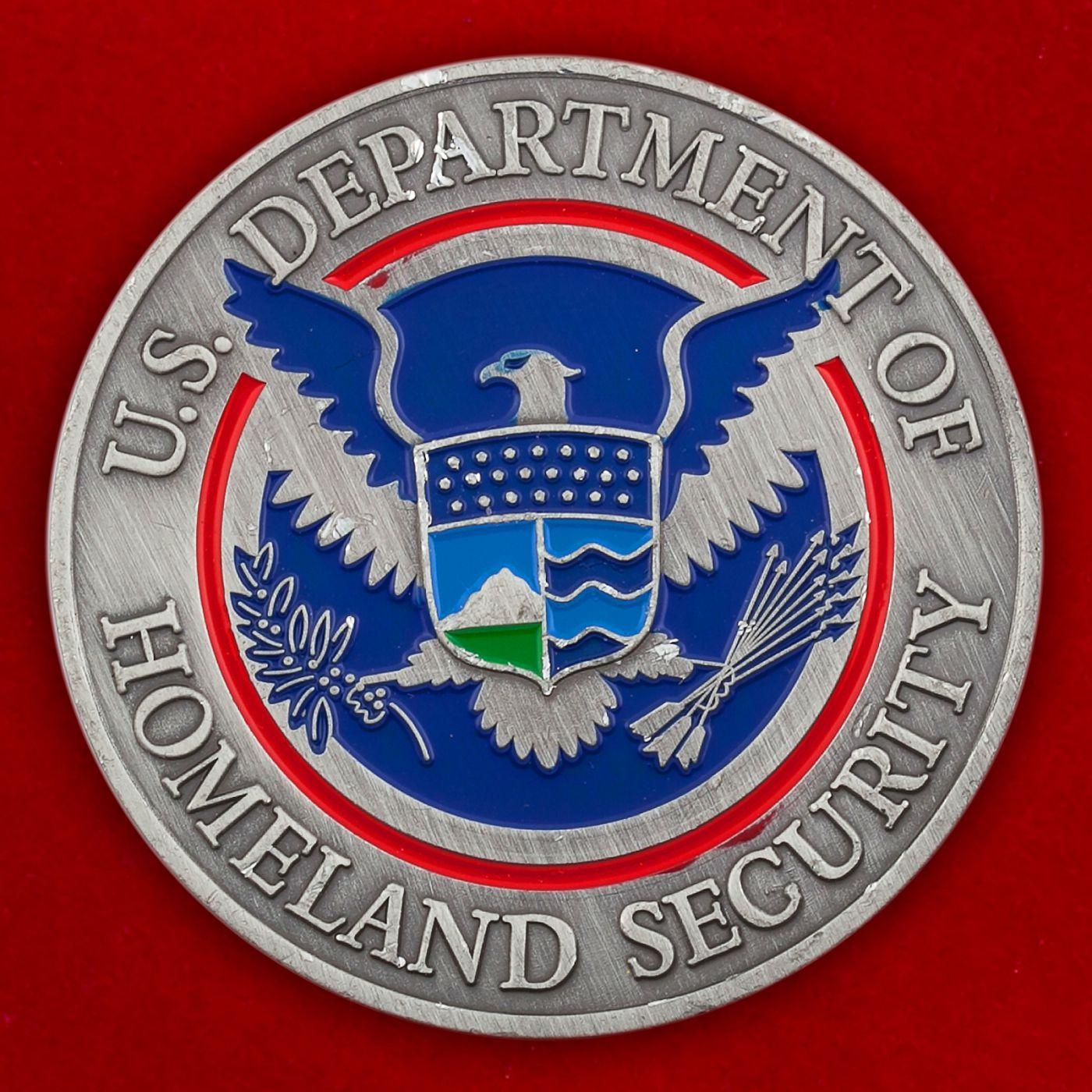 Челлендж коин Министерства Внутренней безопасности США