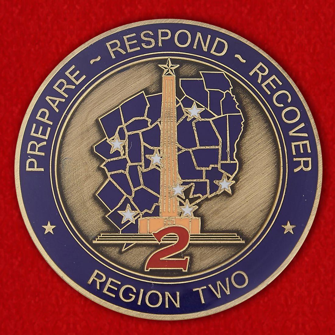 Челлендж коин Департамента Общественной безопасности Техаса