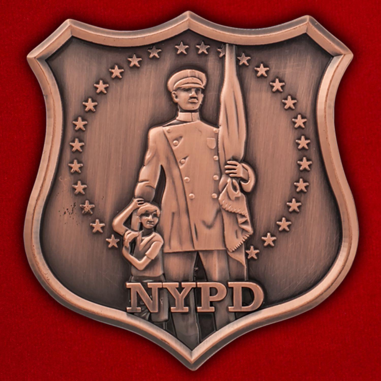 Челлендж коин Департамента полиции Нью-Йорка