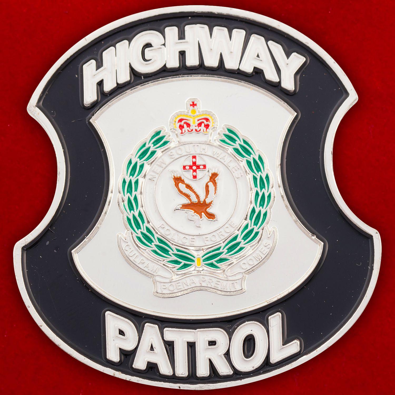 Челлендж коин Дорожного патруля полиции Нового Южного Уэльса (Австралия)