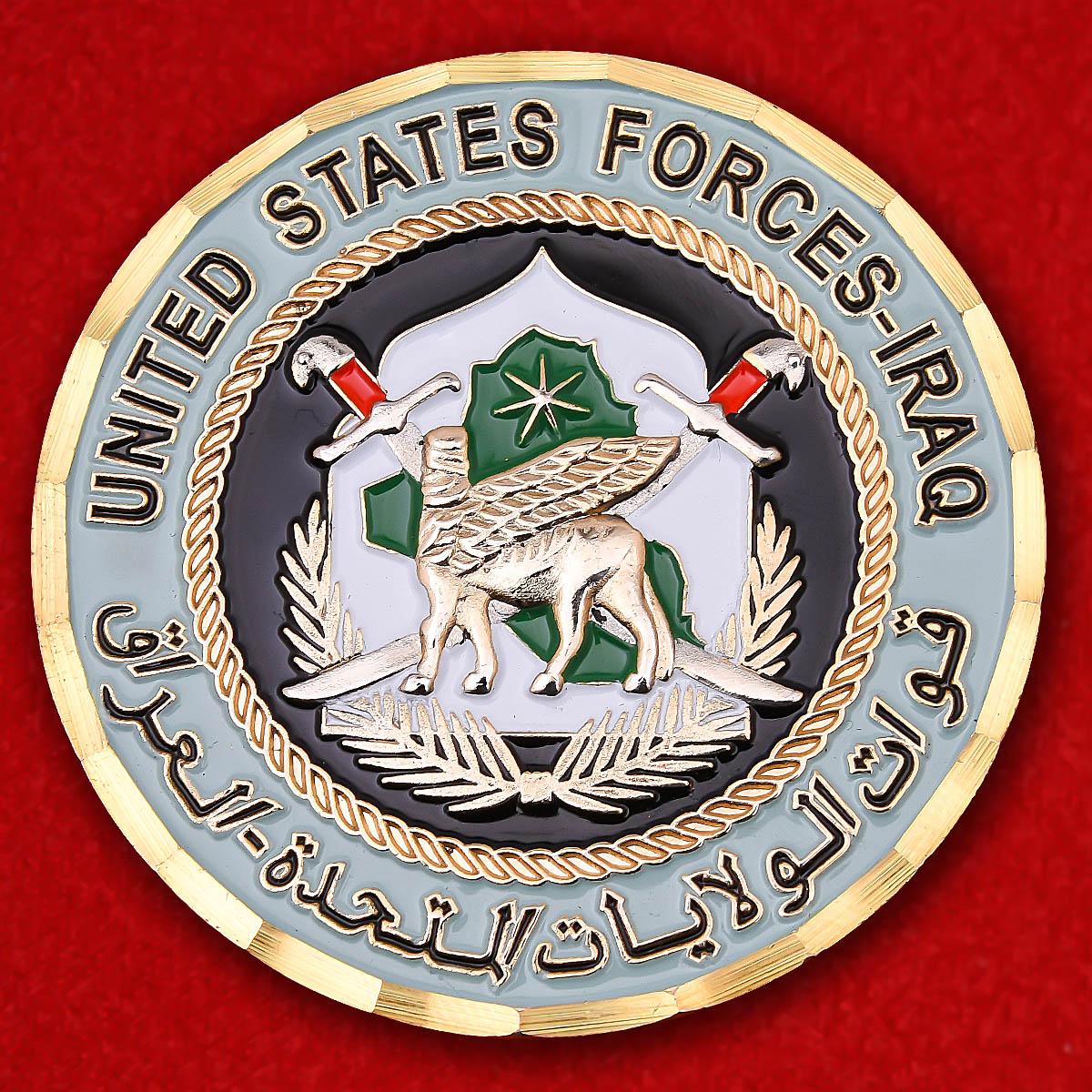 """Челлендж коин Экспедиционных сил США """"За операцию Иракская свобода"""""""