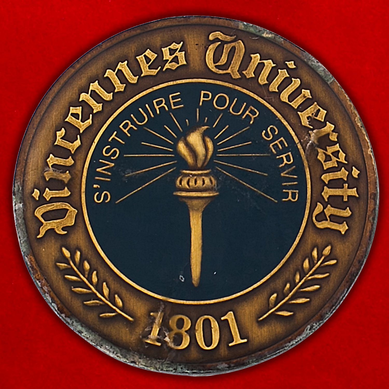 Челлендж коин факультета подготовки военнослужащих при Университете Винсеннес