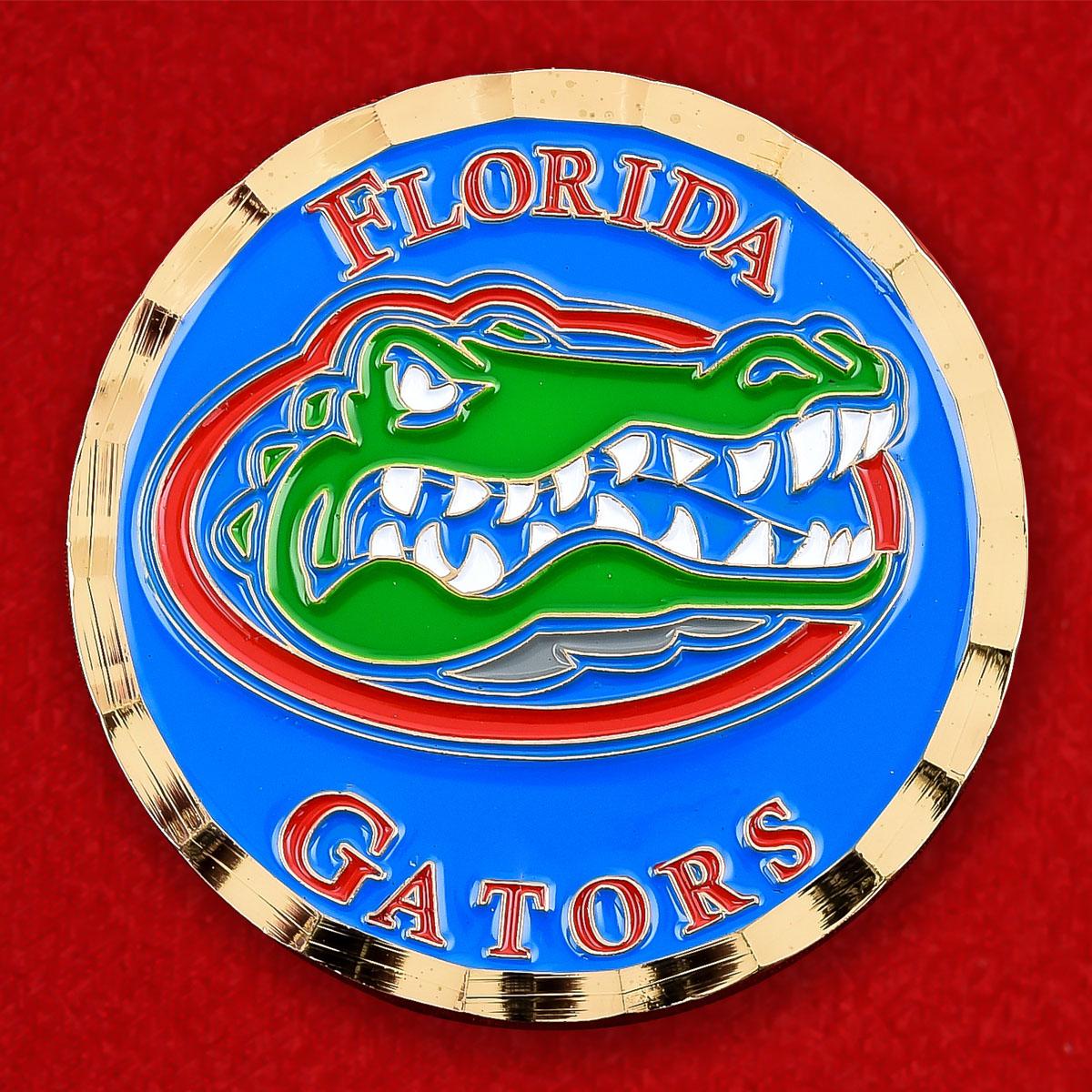 Челлендж коин фанатов Florida Gators