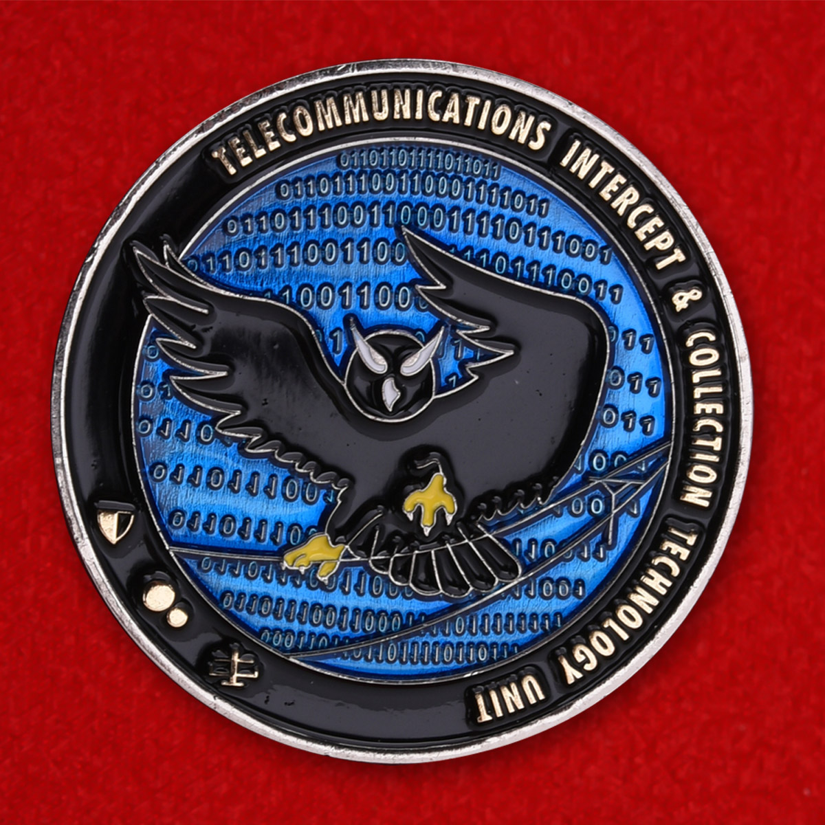 """Челлендж коин ФБР """"Отдел внутреннего телекоммуникационного наблюдения"""""""