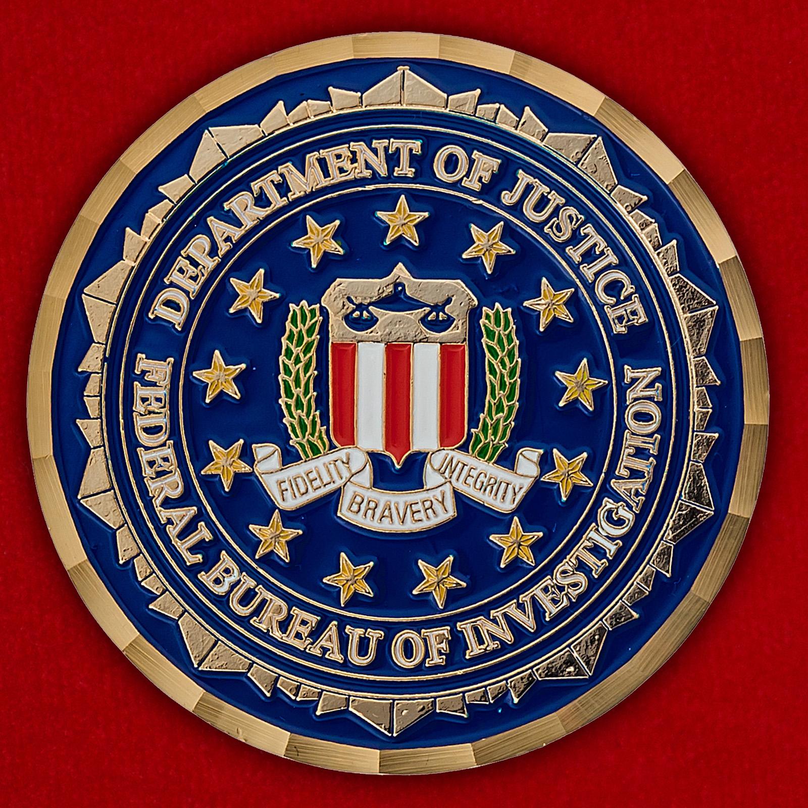 """Челлендж коин ФБР США """"За операцию Несокрушимая свобода"""""""
