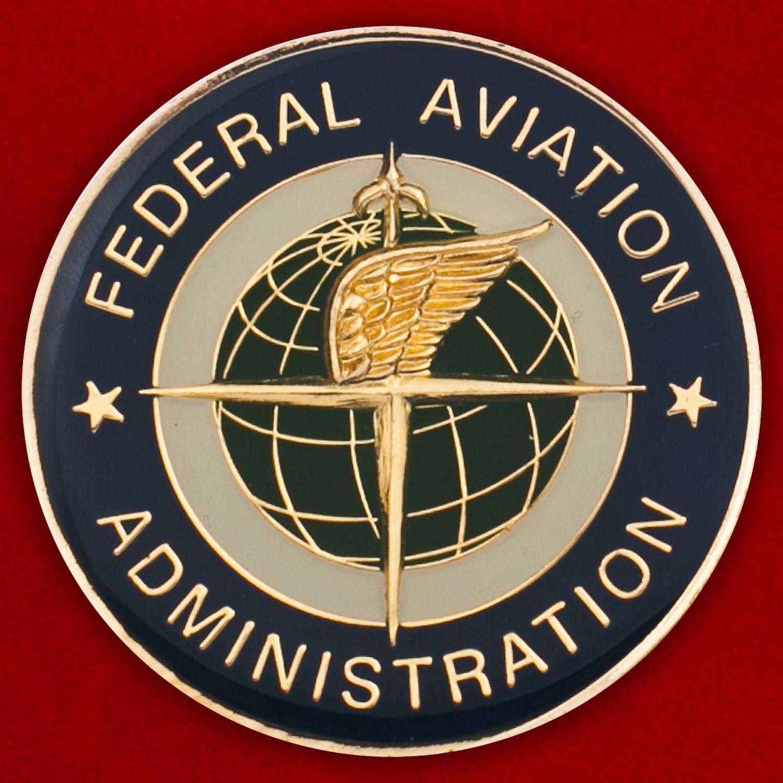 Челлендж коин Федерального управления гражданской авиации в Лас-Вегасе