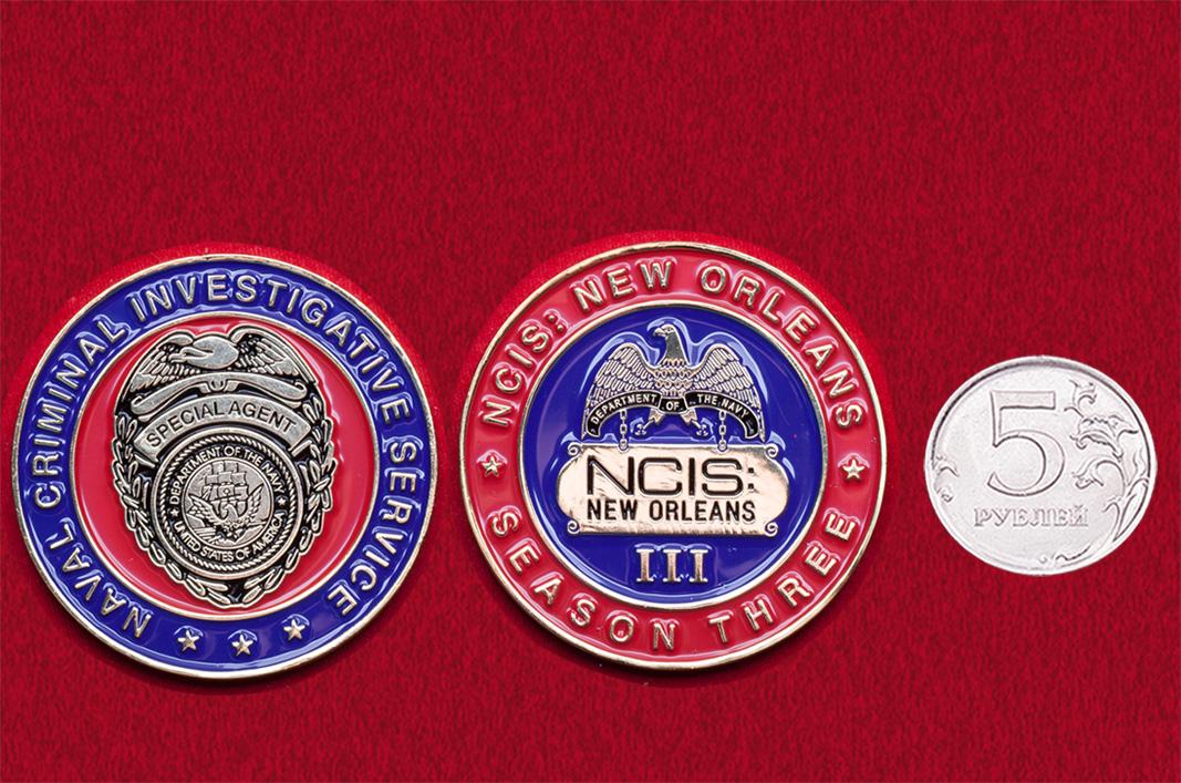 Челлендж коин филиала Следственного управления ВМС США в Новом Орлеане