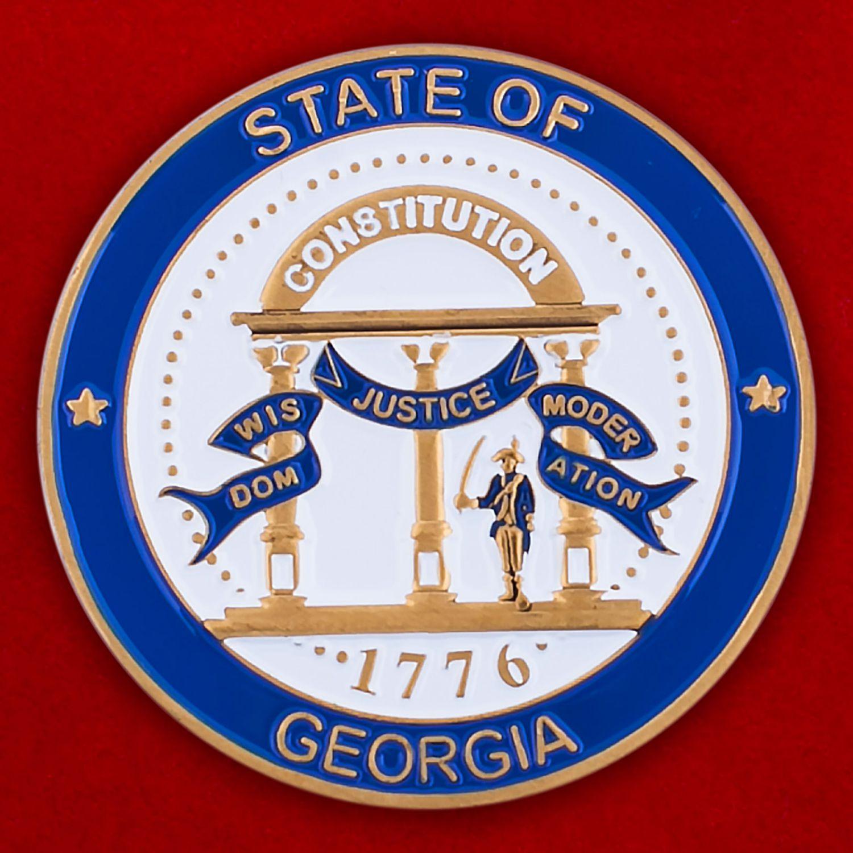 Челлендж коин Генпроуратуры штата Джорджия