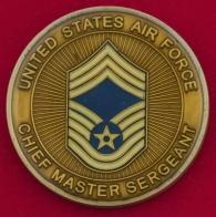 Челлендж коин главных мастер-сержантов ВВС США