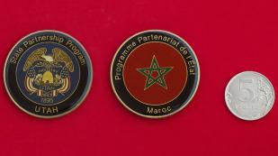 Челлендж коин государственной программы сотрудничества между штатом Юта и Марокко
