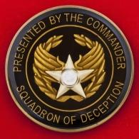 Челлендж коин группы постановки помех 36-й эскадрильи РЭБ ВВС США