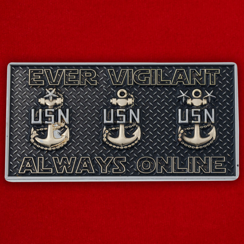 Челлендж коин IT-специалистов ВМС США