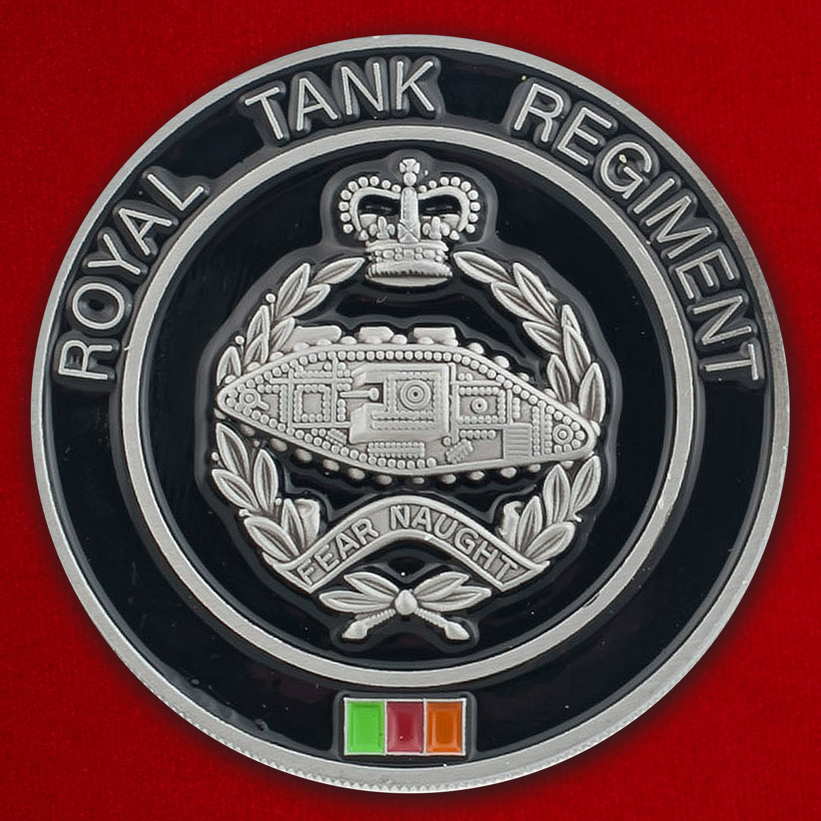 Челлендж коин к 100-летию формирования Королевского танкового полка Великобритании