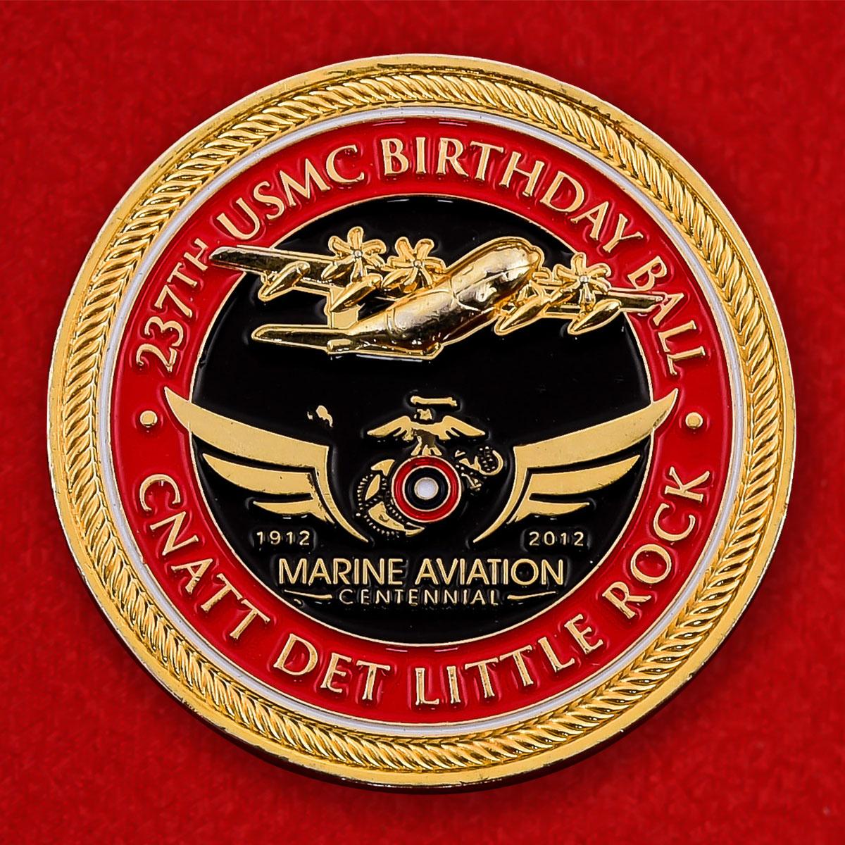 Челлендж коин к празднованию 237-летия Корпуса Морской пехоты США