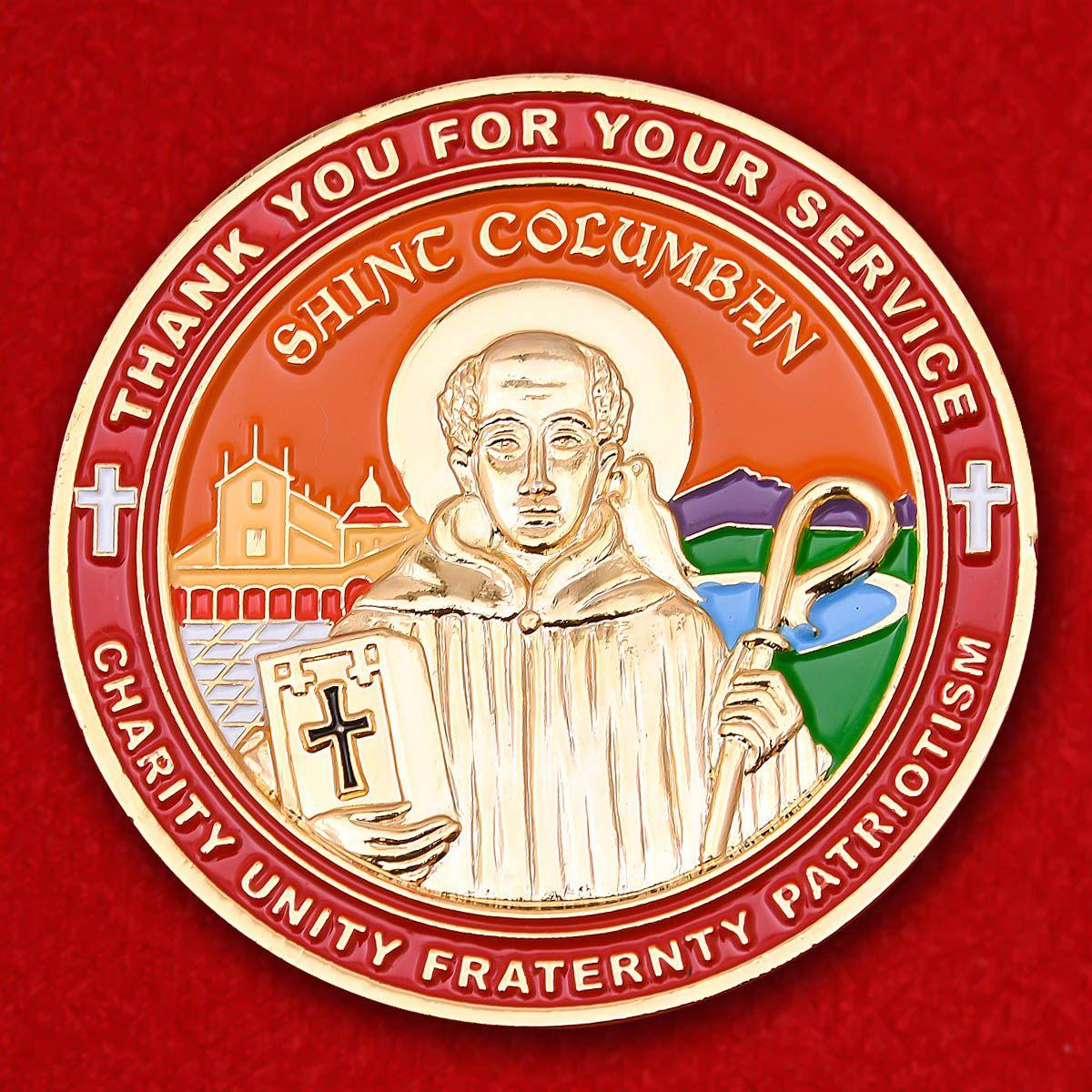 """Челлендж коин благотворительного католического братства """"Рыцари Колумба"""""""