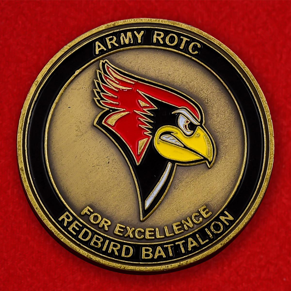 "Челлендж коин колледжа ВС США ""Redbird Battalion"""
