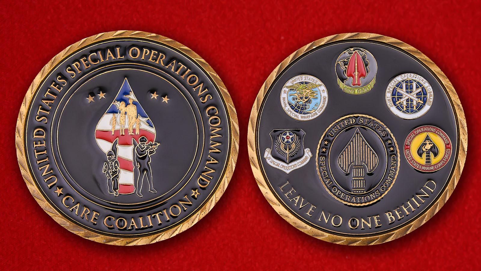 """Челлендж коин Командования сил специальных операций США """"Никто не забыт"""""""