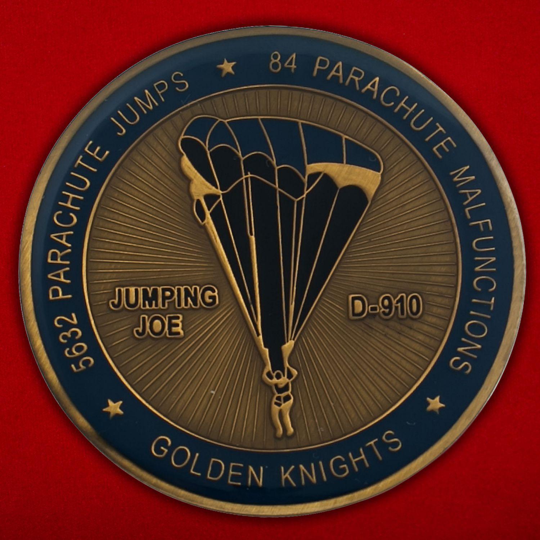 Челлендж коин команды НАСА по тестированию парашютстов в стратосфере