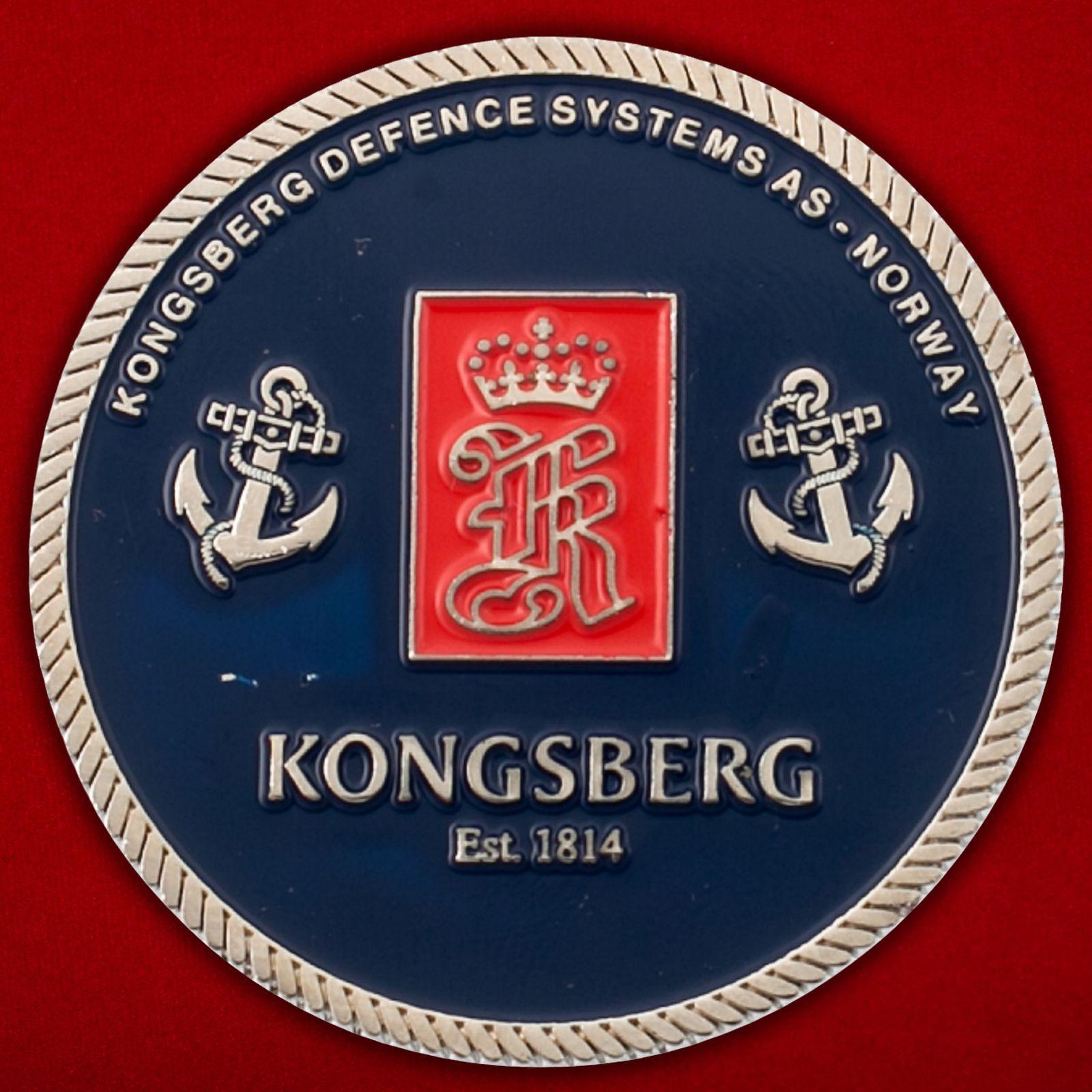 Челлендж коин компании Kongsberg Defence