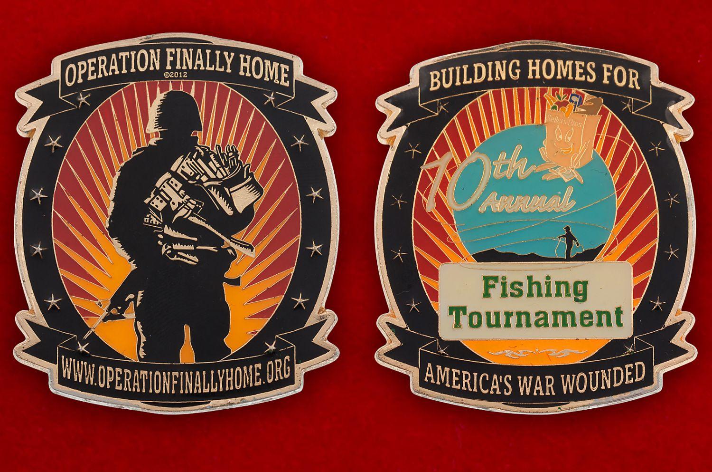 Челлендж коин компании-застройщика жилья для инвалидов и ветеранов военных действий (США) - аверс и реверс