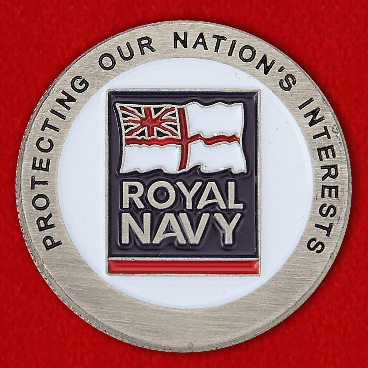 Челлендж коин Королевских ВМС Великобритании