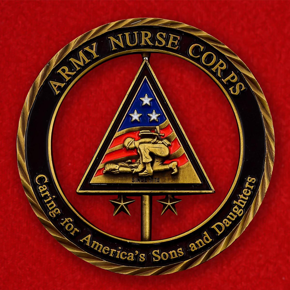 """Челлендж коин """"Корпус медицинских сестер армии США"""""""