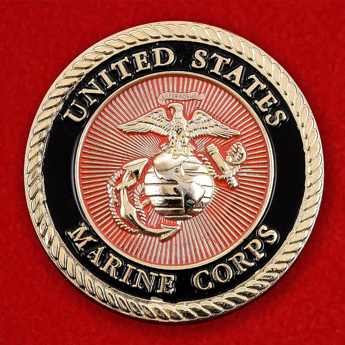 """Челлендж коин Корпуса Морской пехоты США """"Операция Освобождение Ирака"""""""