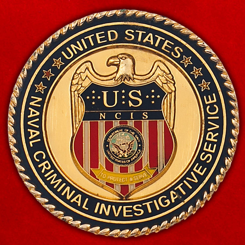 Челлендж коин Криминальной полиции ВМС США штата Джорджия