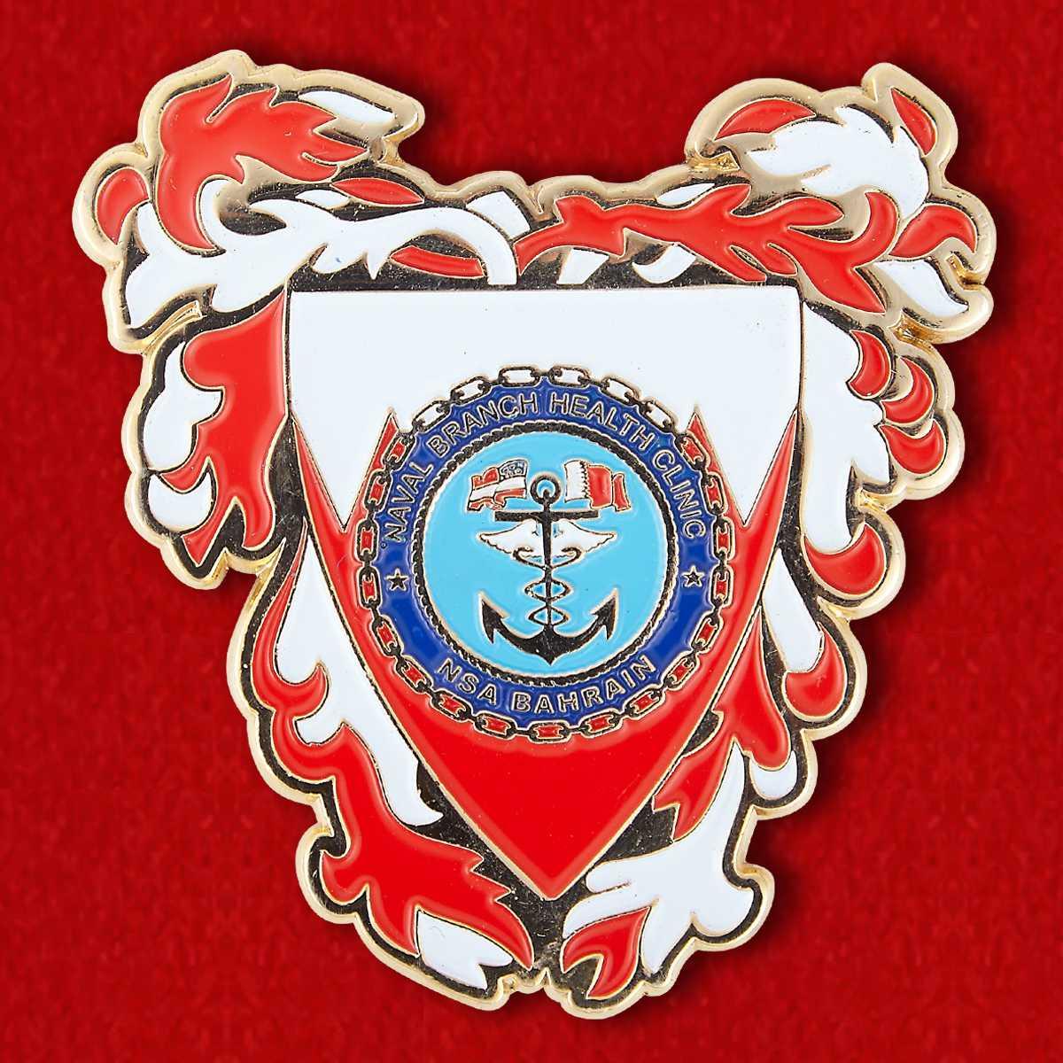 "Челлендж коин ""Лечебная клиника ВМС США в Бахрейне"""