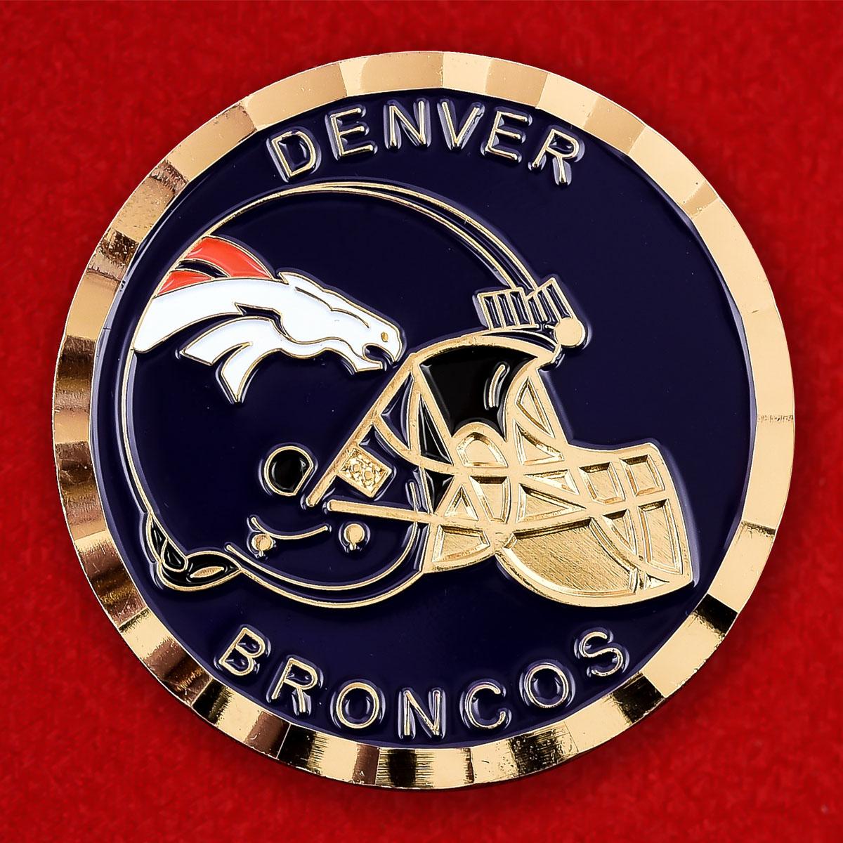 Челлендж коин лиги NFL Denver Broncos