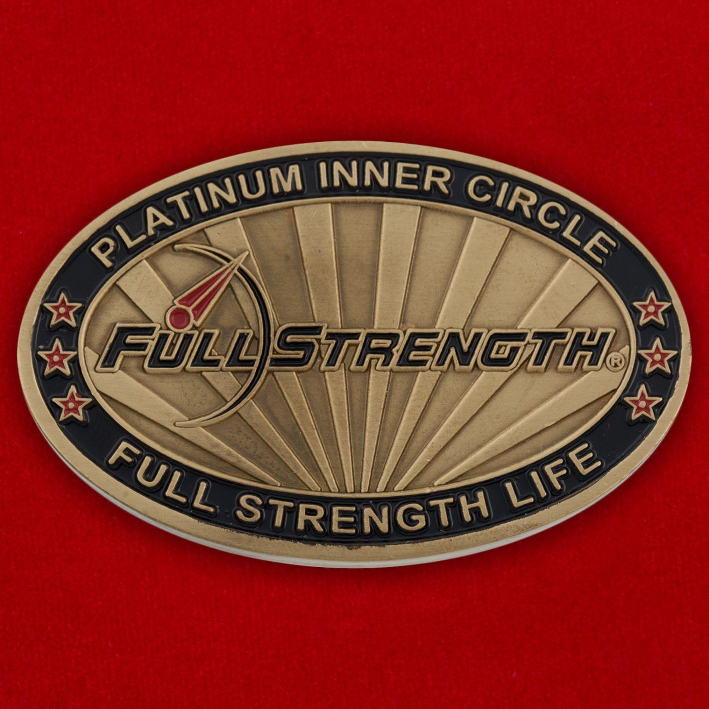 Челлендж коин линейки продуктов спортивного питания Full Strength